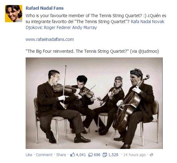 Rafael Nadal Fans' Facebook