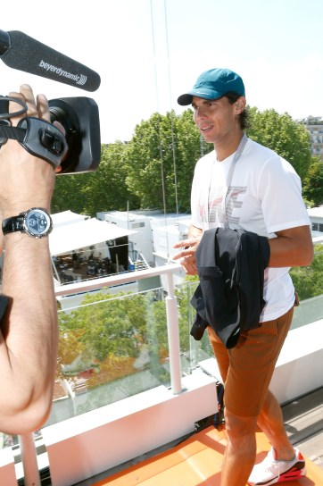 Celebrities At French Open 2013 - Day 12