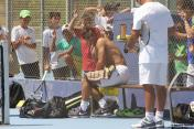 Rafa Hits The Practice Court In Manacor - Rafael Nadal Fans (5)
