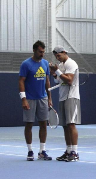 Rafa practicing in Manacor - Rafael Nadal Fans (3)
