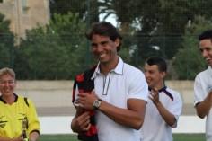 Rafael Nadal Attends Inter Manacor Football Match (1)