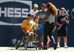 Rafael Nadal - Kids Day 2013 - New York (3)