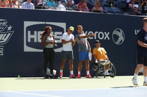 Rafael Nadal - Kids Day 2013 - New York (4)