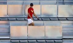 Davis Cup - Rafael Nadal practicing in Madrid (10)
