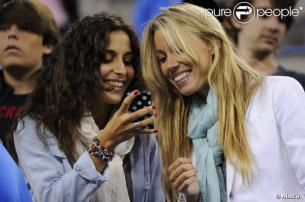 Girlfriend Maria Xisca Watching Rafael Nadal - US Open 2013 (1)