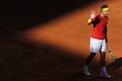 Rafael Nadal beats Sergiy Stakhovsky 60 60 64 Davis Cup (12)