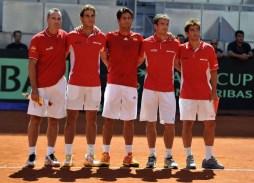 Rafael Nadal beats Sergiy Stakhovsky 60 60 64 Davis Cup (13)