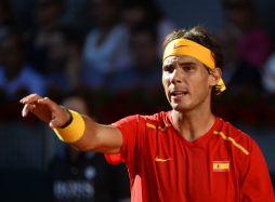 Rafael Nadal beats Sergiy Stakhovsky 60 60 64 Davis Cup (14)