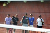 Rafael Nadal practices with Uncle Toni in New York (2)