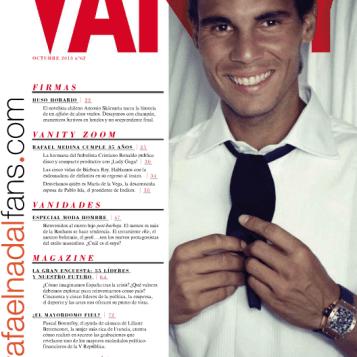 RAFAEL NADAL - VANITY FAIR 2013