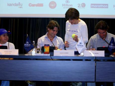 Rafael Nadal David Ferrer Peru Press Conference (11)