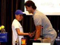 Rafael Nadal David Ferrer Peru Press Conference (8)