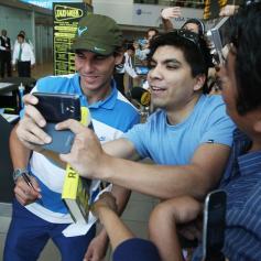 Rafael Nadal in Lima Peru 2013 (12)