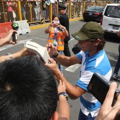 Rafael Nadal in Lima Peru 2013 (15)