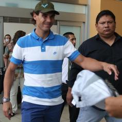 Rafael Nadal in Lima Peru 2013 (5)