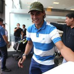 Rafael Nadal in Lima Peru 2013 (8)