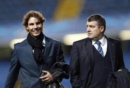 Rafael Nadal Stamford Bridge Chelsea Schalke 04 (5)