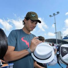 Rafael Nadal At Kids Clinic In Abu Dhabi (11)