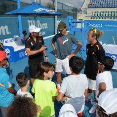 Rafael Nadal At Kids Clinic In Abu Dhabi (12)