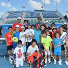 Rafael Nadal At Kids Clinic In Abu Dhabi (9)