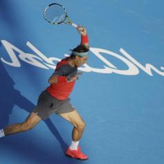 Rafael Nadal Jo-Wilfried Tsonga Abu Dhabi (3)