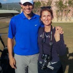 Rafael Nadal Plays Golf In Mallorca 2013 (3)