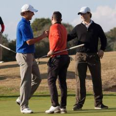 Rafael Nadal Plays Golf In Mallorca 2013 (8)