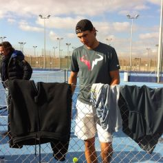 Rafael Nadal practices for new season in Mallorca (8)