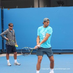 AO2014-Day-8-Rafael-Nadal-Practice0006