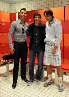 Cristiano Ronaldo Raul Rafael Nadal
