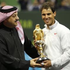Rafa vs Gael Monfils Doha Final Reuters Ahmed Jadallah 7