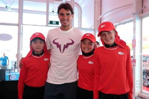 Rafael Nadal Australia Kia Fleet Handover (5)