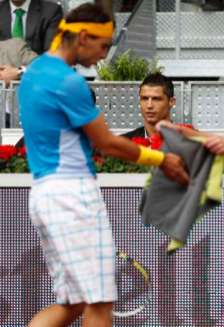 Rafael Nadal Cristiano and Ronaldo CR7
