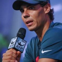 Rafael Nadal press conference in Rio de Janeiro 12