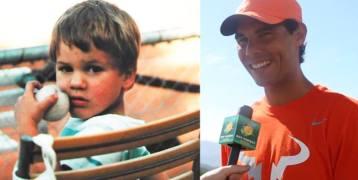 Rafa tought that Roger Federer was Aga?