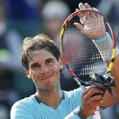 Nadal beats Ginepri Roland Garros 2014 3