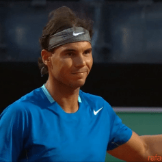 Nadal v Dimitrov Rome Masters SF 2014 (3)