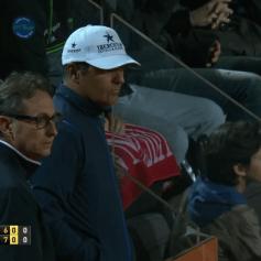 Rafael Nadal's publicist Benito and Uncle Toni