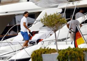 Rafa Nadal Vacations In Ibiza (2)