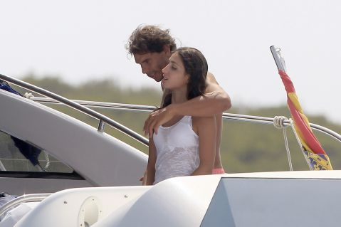 Rafael Nadal and his girlfriend Maria Francisca Perello (18)