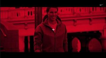 Rafael Nadal Nike Fall Spot