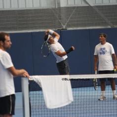 Rafael Nadal practicing in Manacor with wrist injury 19