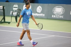 Rafael Nadal v Jo-Wilfried Tsonga Kazakhstan exhibition (1)