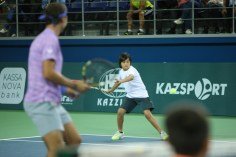 Rafael Nadal v Jo-Wilfried Tsonga Kazakhstan exhibition (7)