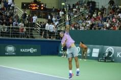 Rafael Nadal v Jo-Wilfried Tsonga Kazakhstan exhibition (9)