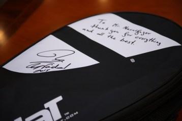 Rafael Nadal's gift for Kazakh president Nursultan Nazarbayev