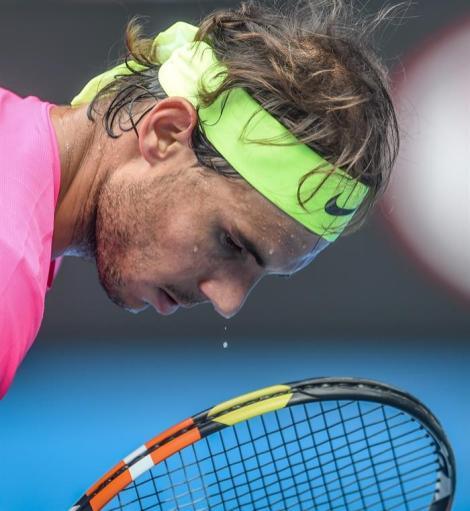 Nadal vs Anderson at Australian Open R4