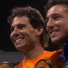 Qatar Open Doubles Champions Rafael Nadal Juan Monaco
