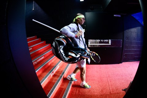 Rafael Nadal Tim Smyczek R2 Australian Open 2015
