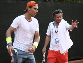 Rafael Nadal practicing in Buenos Aires (7)